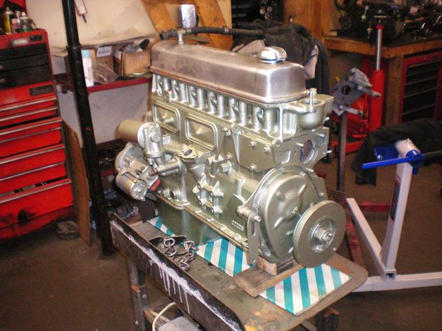Brit Bits Fine British Automobiles Rye NH – Run Engine Test Stand Wiring