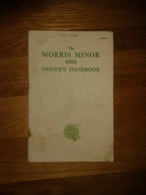 Morris-Minor-1000-Drivers-Handbook
