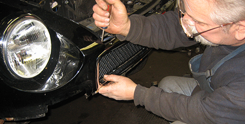 British automobile service and restoration